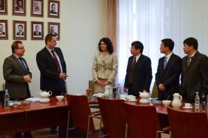 Besuch der Vertreter aus der chinesischen Provinz Zhejiang